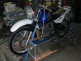 バイク梱包1