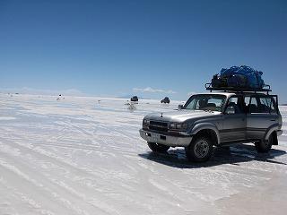 ウユニ塩湖入り口