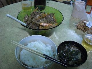 ペン園晩飯
